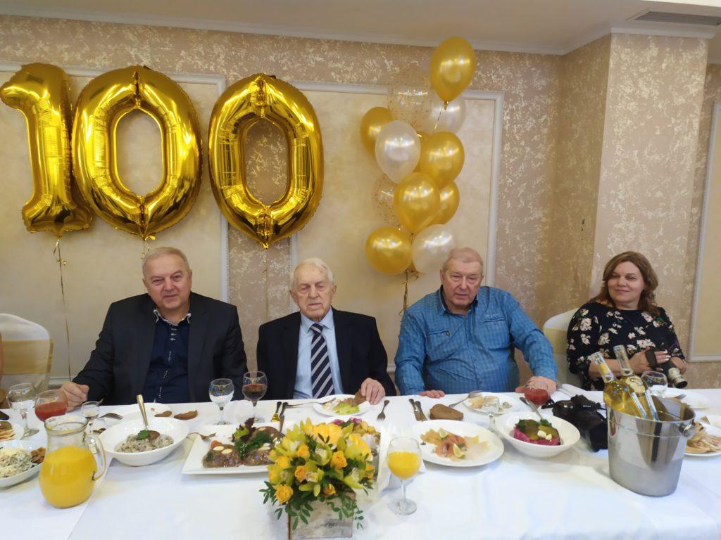 Юбилей 100 лет. Ведущий и музыкант Михаил Долгушев